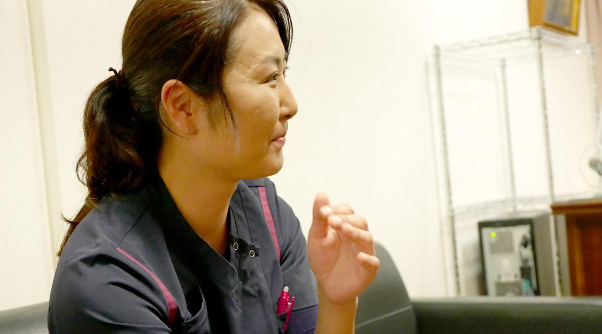 【ケアクルー】前田 絵美